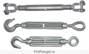 Талреп-устройство для стягивания и выбирания слабины такелажа, кабелей и т. д. Обычно состоит из двух винтов с противоположной резьбой, вкручиваемых в специальное кольцо с двумя резьбовыми отверстиями.