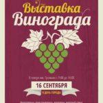 Фото-видео отчет о прошедшей выставке винограда Грозди Гомеля